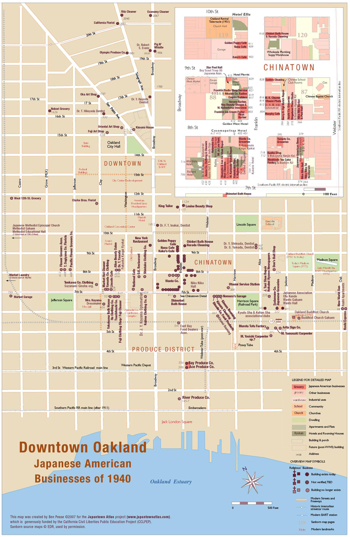 Oakland Downtown & Chinatown Map on weeksville map, five points map, terminal e map, new york city map, broadway play map, museum park map, horner park map, ny public library map, clason point map, central park map, downtown nyc map, park west map, lower manhattan map, the gallery at market east map, forbidden island map, east loop map, gold mountain map, the west village map, assembly square map, greenwich village map,